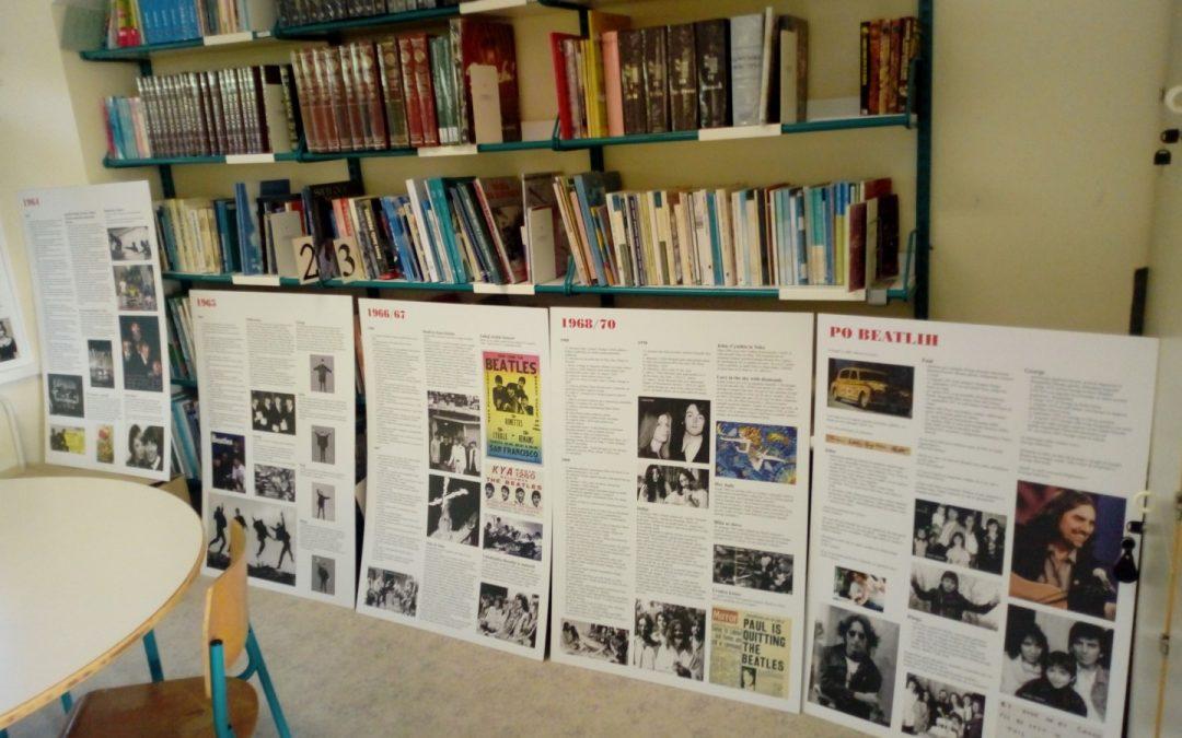 Razstava v knjižnici – THE BEATLES