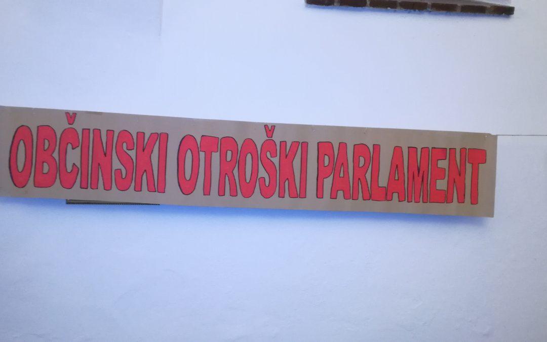 29. občinski otroški parlament osnovnih šol občin Sevnica in Radeče