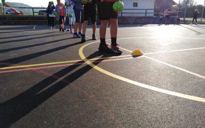 Športni dan različnih športov 1-5.r